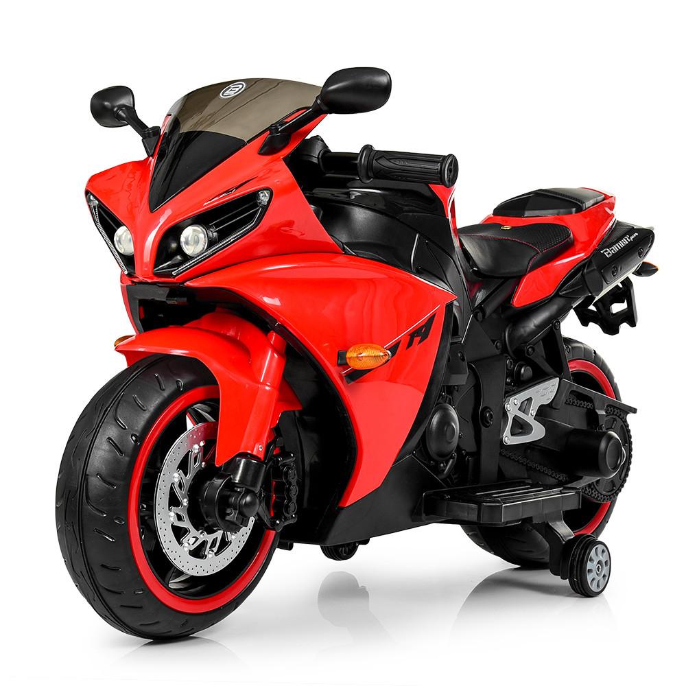 Детский мотоцикл Yamaha R1 M 4069L-3 красный