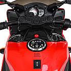 Детский мотоцикл Yamaha R1 M 4069L-3 красный, фото 4