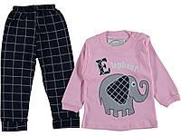 Детский костюмчик  для девочек 1,2,3 года 100% хлопок
