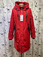 Куртка женская батал весна/осень Olanmear B20916