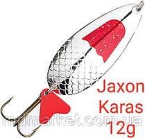 Блесна Jaxon Karas 12g Holo Select Серебро