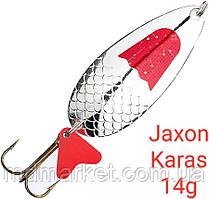 Блесна Jaxon Karas 14g Holo Select Серебро