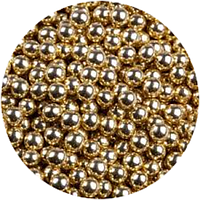 Сахарный декор Золотая бусинка 20г (d=7-8мм)