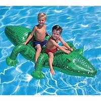 Надувная игрушка крокодил 58562 для плавания