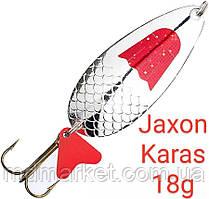 Блесна Jaxon Karas 18g Holo Select Серебро