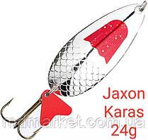 Блесна Jaxon Karas 24g Holo Select Серебро