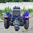 Мототрактор Zubr JR-Q15E NEW 4х4, фото 3