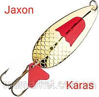 Блесна Jaxon Karas 14g Holo Select Золото