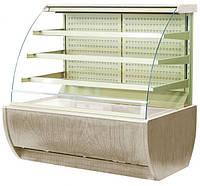 Кондитерская холодильная витрина JAMAJKA 0.9 (W) OPEN открытая спереди