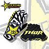 Велоперчатки Thor Rockstar  L