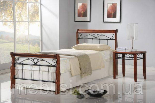 Ліжко VERONICA 90 вишня Halmar