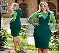 Платье женское в большом размере Имитация  № 1009 Гл