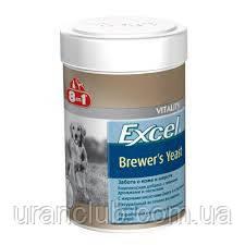 8 в 1 Бреверс Витамины с пивными дрожжами для кошек и собак (8 in 1 Excel Brewers Yeast)
