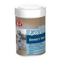 8 в 1 Бреверс Витамины с пивными дрожжами для кошек и собак (8 in 1 Excel Brewers Yeast), банка 140 таб