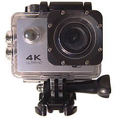 Экшн камера водонепроницаемая HLV DVR SPORT S2 Wi Fi Silver