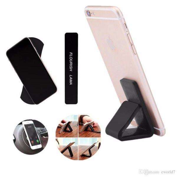 Липучка держатель для телефона/ крепление под телефон FLOURISH LAMA (комплект 2шт.)
