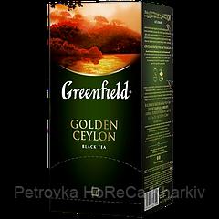 """Чай в пакетиках черный Greenfield """"Golden Ceylon"""" 25шт"""