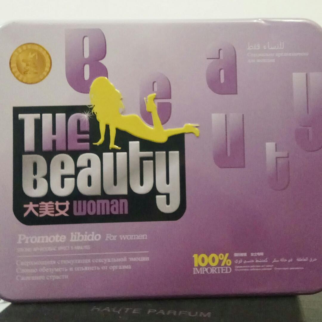 """THE BEAUTY WOMAN """"Прекрасна жінка"""" збуджуючі краплі для жінок, 1 флакончик"""