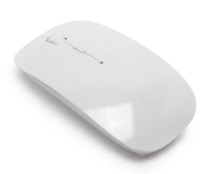 Беспроводная ультратонкая мышь 2.4 GHz мышка компьютерная
