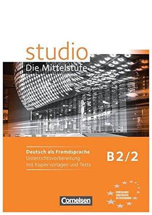 Studio B2 Band 2 Unterrichtsvorbereitung mit Kopiervorlagen und Tests, фото 2