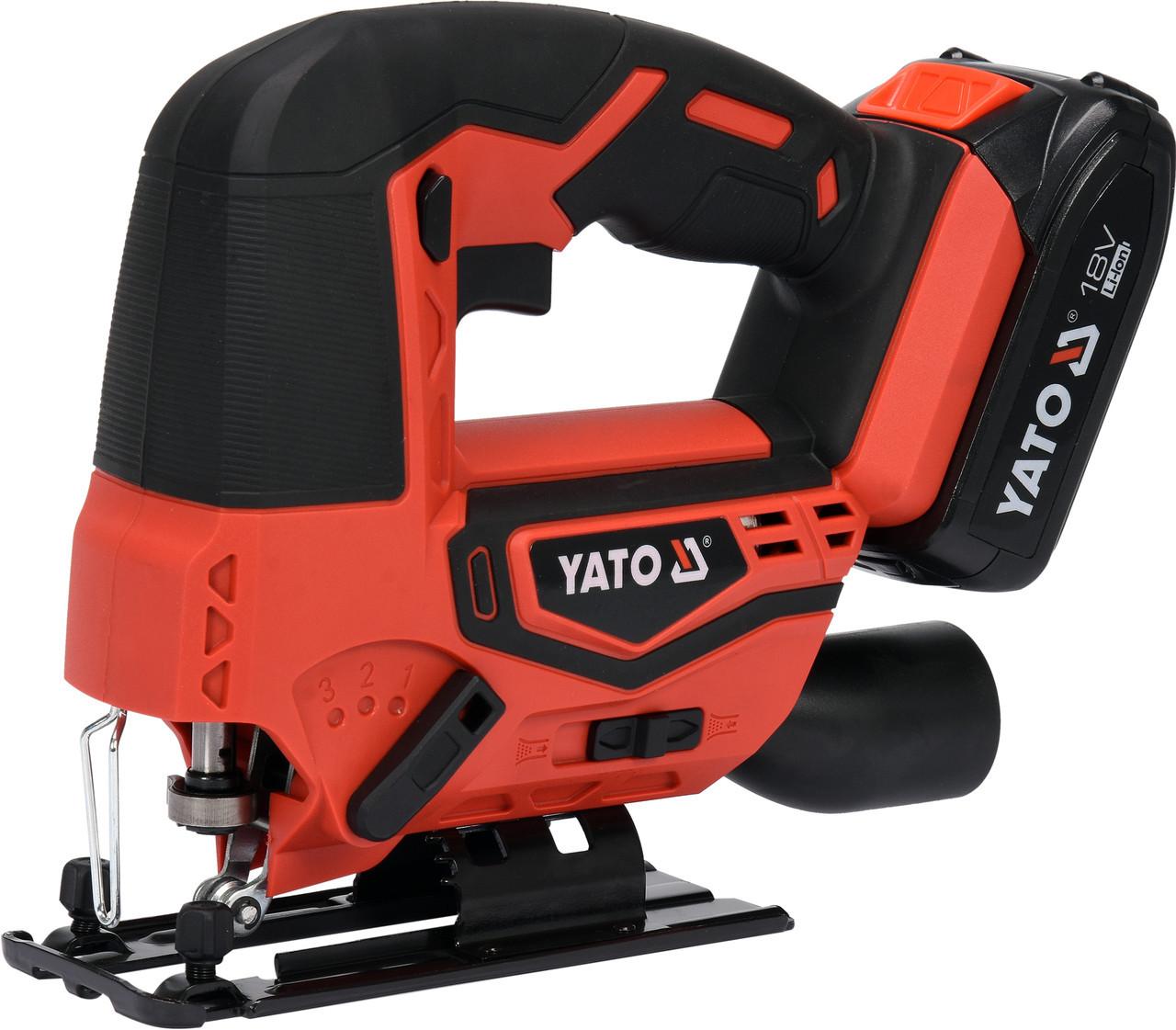Лобзик аккумуляторный YATO YT-82822