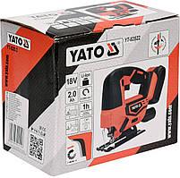 Лобзик аккумуляторный YATO YT-82822, фото 3