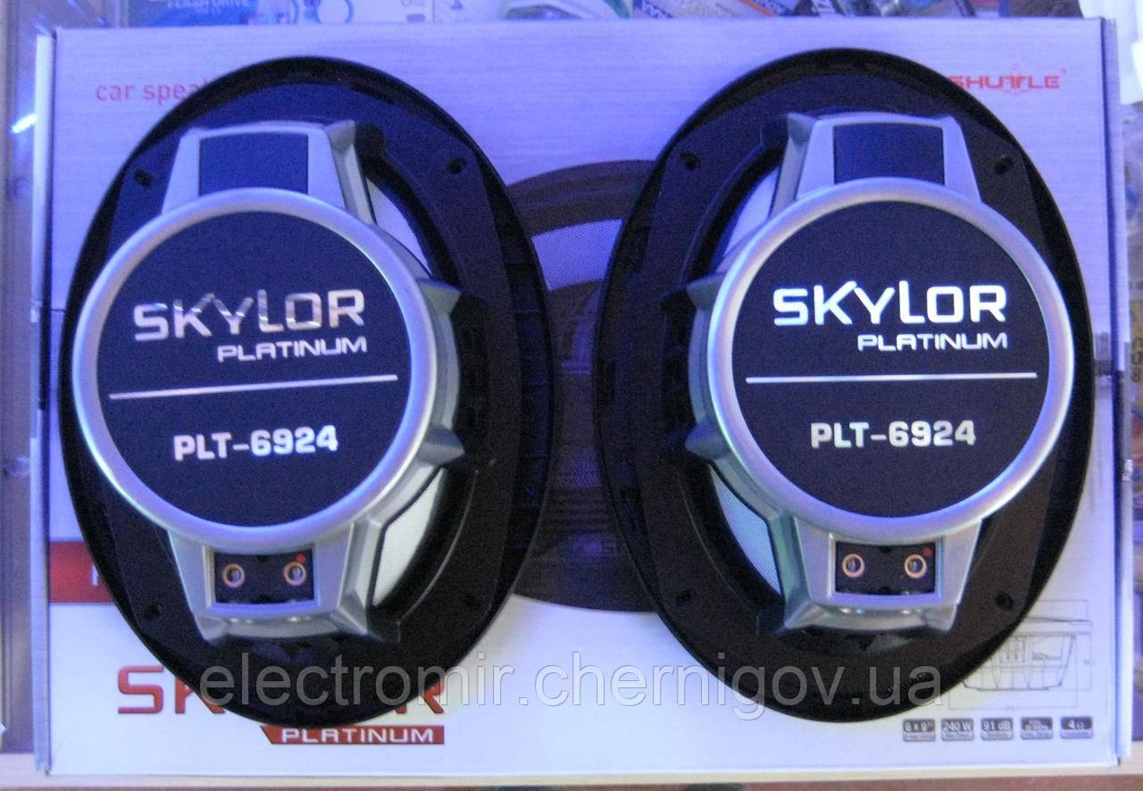 Динамики автомобильные Shuttle Platinum PLT-6924 (овалы)