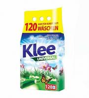 Бесфосфатный стиральный порошок KLEE, универсальный, 10 кг, 120 стирок