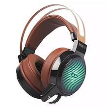 Навушники Salar C13 Brown