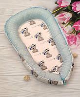 Гнездышко кокон-позиционер для новорожденных