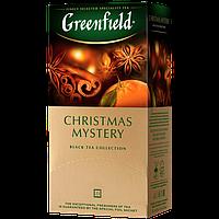 "Чай чорний в пакетиках Greenfield ""Christmas Mystery"" 25шт Кориця"