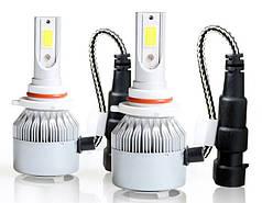 Комплект автомобильных LED ламп HLV C6 в туманки 9005