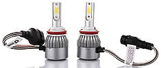 Комплект автомобильных LED ламп HLV C6 H11 5543, 2 шт.