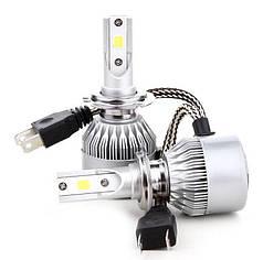 Комплект автомобильных LED ламп светодиодных HLV C6 H7 5540, 2 шт.