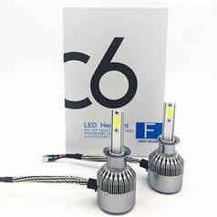 Комплект автомобильных LED ламп HLV C6 H1 5537