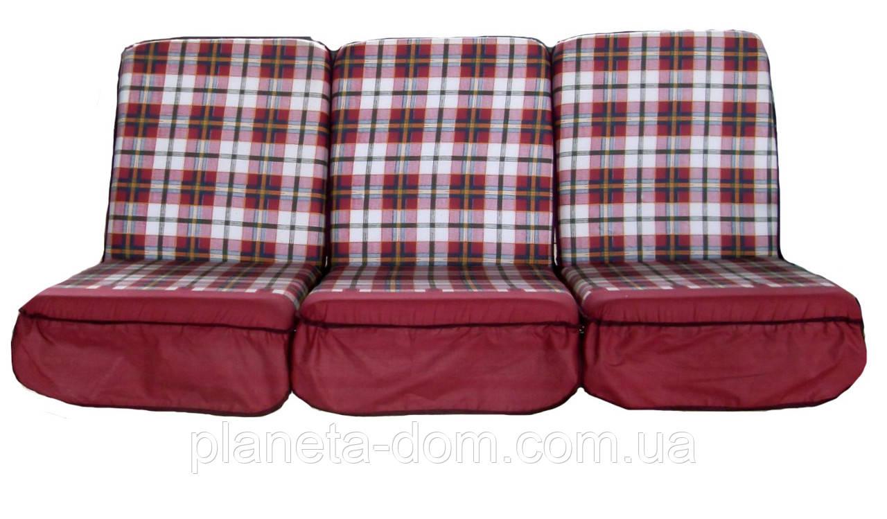 Комплект поролоновых подушек для садовой качели 165 см (004)