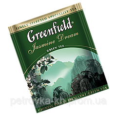"Чай черный в пактиках  Greenfield ""Earl Grey Fantasy"" 100шт Бергамот"