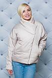 Жіноча демісезонна куртка 42-58 рр.(3 кольори), фото 5