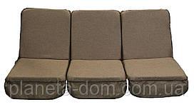 Комплект поролоновых подушек для садовой качели 168 см (006)