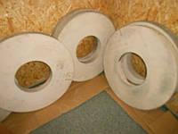 Абразивный круг шлифовальный (электрокорунд белый) 25А ПП 750х25х305 40 М3