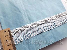 Бахрома декоративна шовкова  3 см. слонова кість