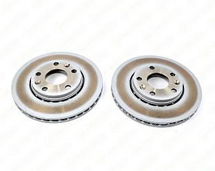 Тормозной диск передний 280mm. (к-т 2шт) на Renault Laguna III- Renault (Оригинал) - 402060010R