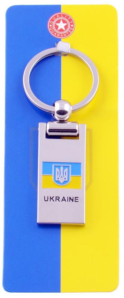 Брелок-сувенир UK119C С украинской символикой