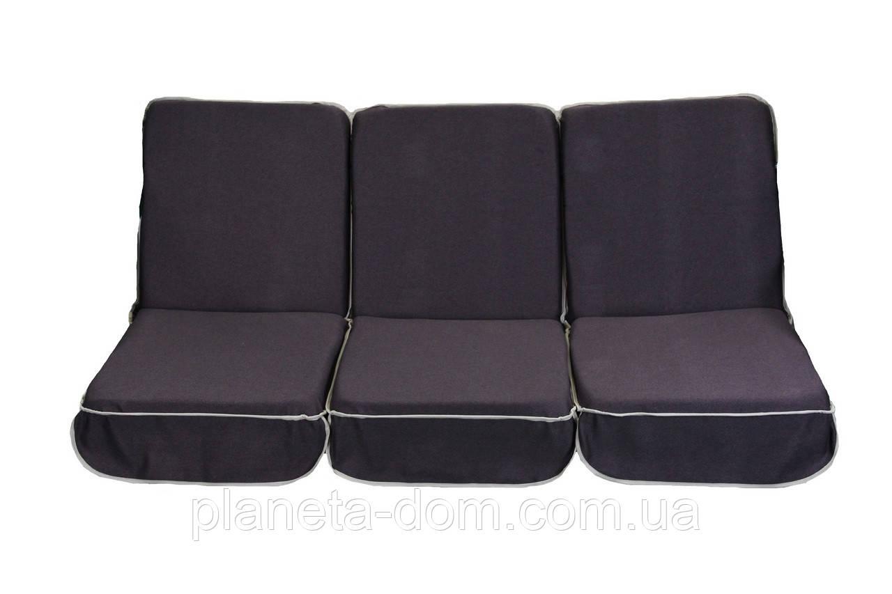 Комплект поролоновых подушек для садовой качели 168 см (052)
