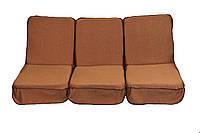 Комплект поролоновых подушек для садовой качели 168 см (055)