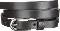 Ремень женский Grande Pelle 11072 тонкий Черный, фото 1