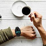 Розумні годинник Lemfo F16 з кардиодатчиком (Чорний), фото 6