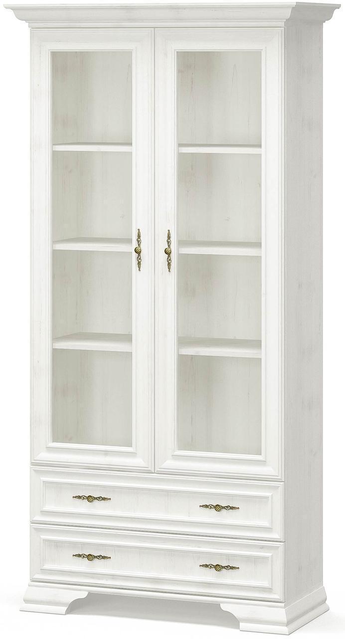 Витрина 2В2Ш Ирис Андерсон пайн Мебель Сервис (100.9х43х197.6 см)