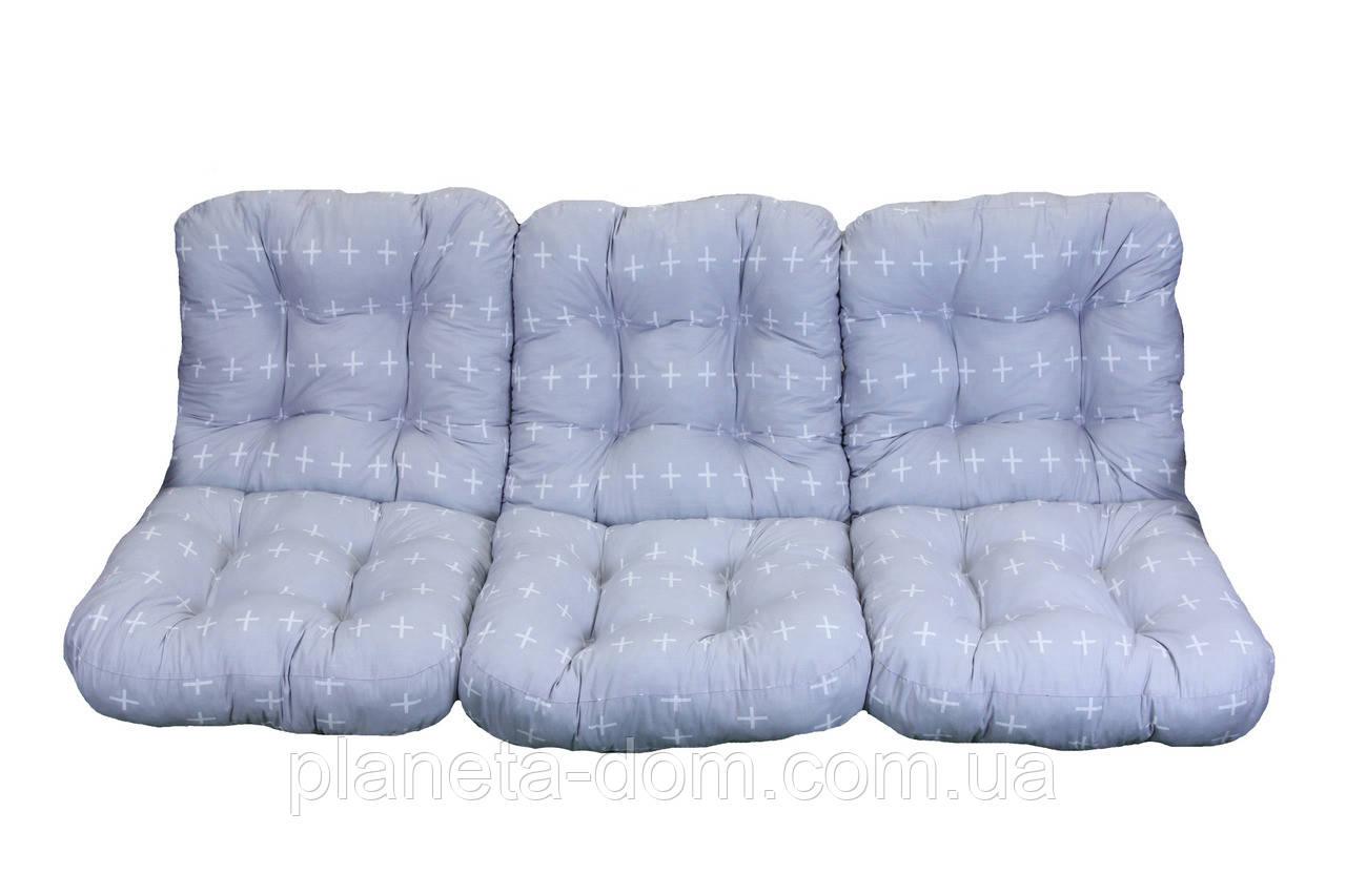 Комплект подушек для садовой качели 180 см (026)
