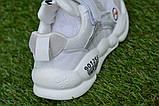 Детские модные кроссовки Найк белые р27-31, копия, фото 6